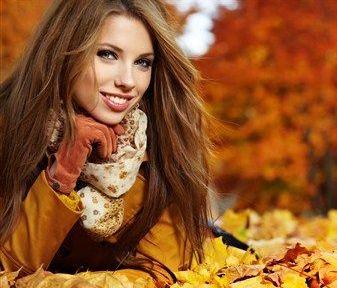 Кожа осенью