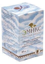 Биодезодорант бытовой «Эмикс». Препарат оказывает сильное дезинфицирующее действие. Нейтрализует вредные бактерии: золотистый стафилококк за 10 минут на 90 %, кишечную палочку за 10 минут на 98 %, белую кандиду за 20 минут на 90 %.