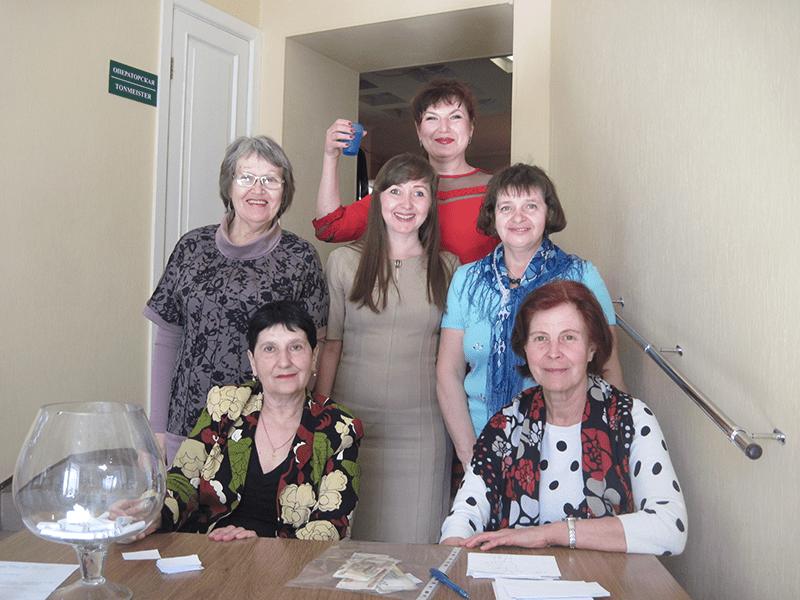 Команда организаторов события